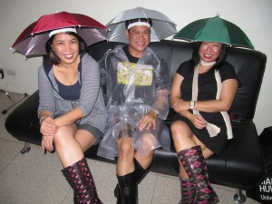 IVY, Edwin and Tanya: high, dry and leptospirosis-ready!