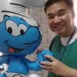 JOJO Villanueva thinks Ricky should have gotten rid of his cell phone (photo from Jojo's Facebook wall)