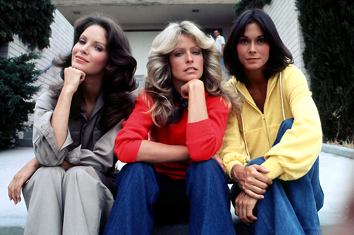 JACLYN Smith, Farrah Fawcett and Kate Jackson as their TV alteregos Kelly Garrett, Jill Munroe and Sabrina Duncan (www.fanpop.com)