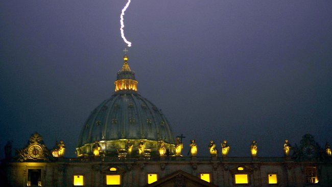 ARE stormy times ahead for the Church of St. Peter?
