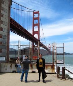 """THE spot where Kim Novak's character in """"Vertigo"""" plunges into the Bay."""