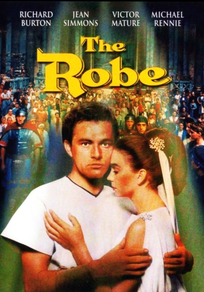 """NO matter how many times we watch it then, we never seem to get tired of the """"The Robe"""" (staredobrikino.blogspot.com)"""