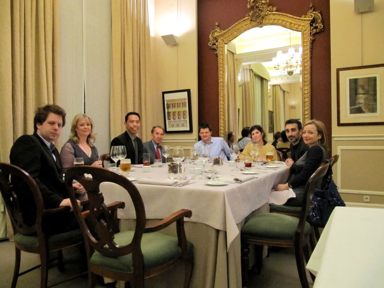 WE were wined and dined for the last time (another age-old attempt at winning journalist over) for the last time at an exclusive restaurant by our hosts. Adios, España! I certainly enjoyed Madrid.