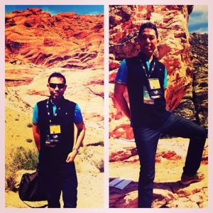 AT RED Rock outside Las Vegas