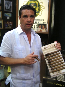 PROUDLY Cuban-made cigars, sort of...