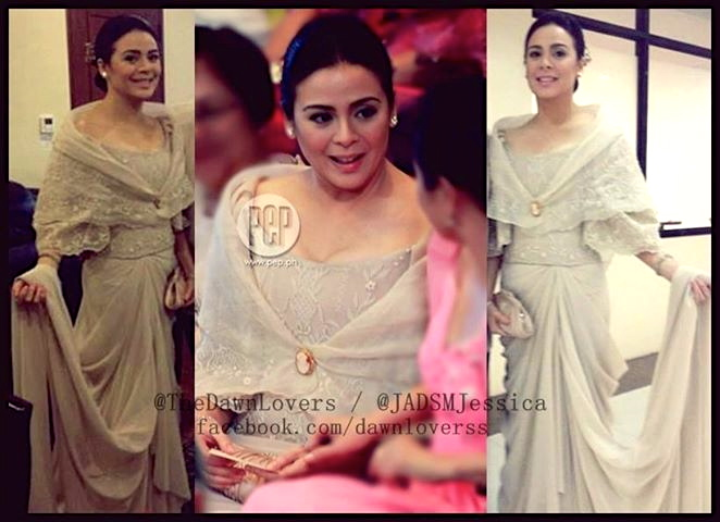 THE still lovely Dawn Zulueta, wife of Rep. Anton Lagdameo. on the day of the SONA. (see credits above)