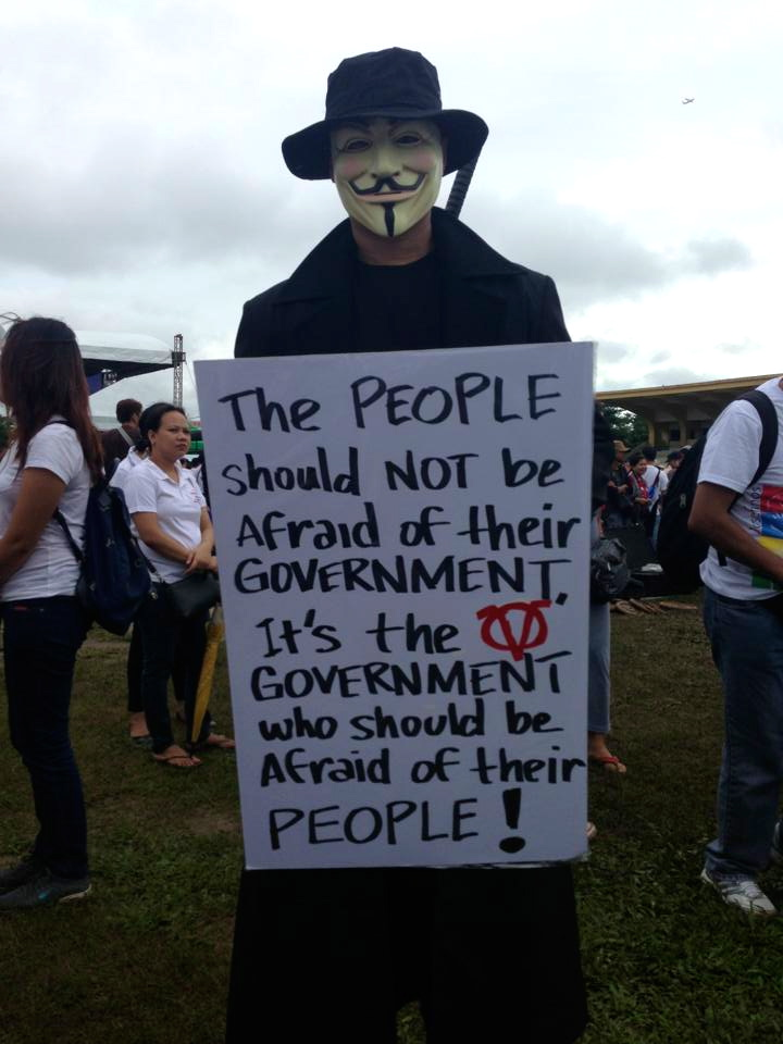BEWARE of the people's vendetta (Bob Zozobrado)