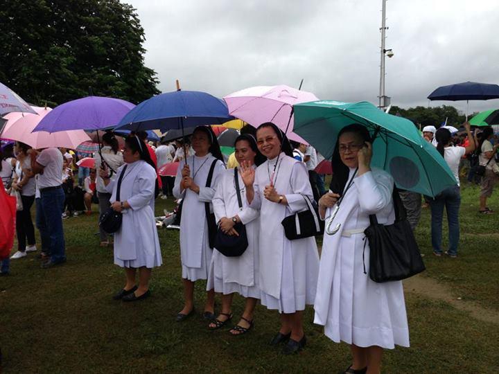 THE nuns are at again. Be afraid, be very afraid. (PJ Caña)