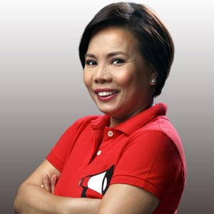 EVEN the no nonsense Susan Enriquez is all dolled up on TV. (www.pep.ph)