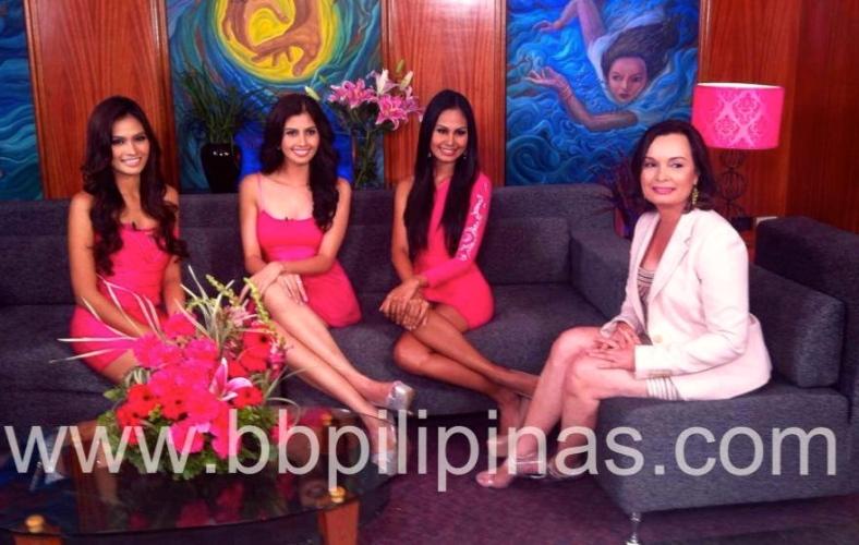 FILIPINAS, too: Janine, Shamcey, Venus and Margie