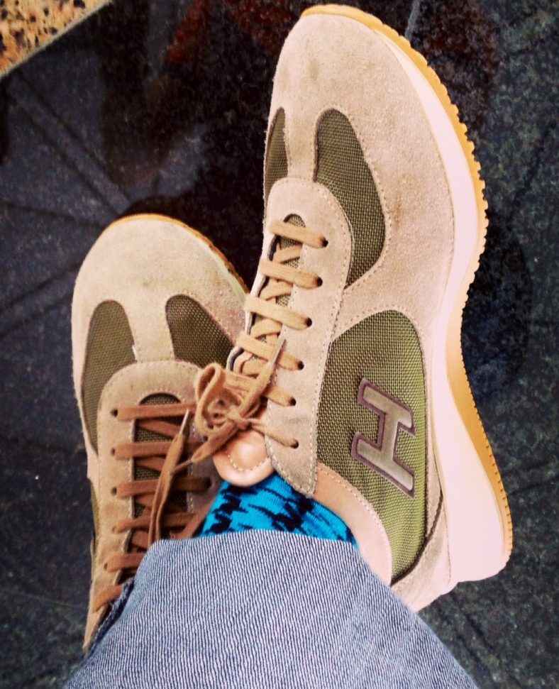 NEVER ever leave home without a comfortable pair of shoes.