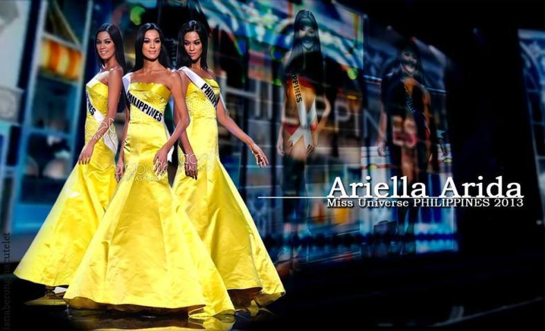 BUT since life as we know it is still confined to planet Earth, good luck Miss Philippines Ariella Arida. Kick those bitches and bring home the crown! (Miss Philippines' Road to Miss Universe Crown Facebook page)