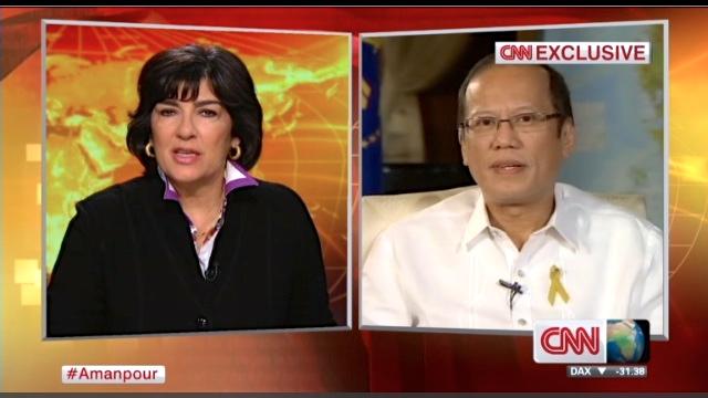 PRESIDENT Aquino's one-on-one with CNN's Christiane Amanpour (www.rappler.com)