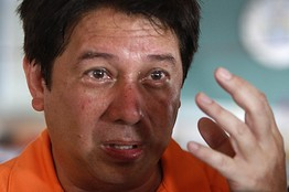 TACLOBAN Mayor Alfred Romouldez turns emotional and cries up a storm.