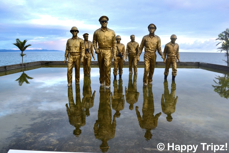 LEYTE, like Gen. Douglas MacArthur, immortalized here in a park named after him in Palo, shall return to its former state. (happytripz.com)