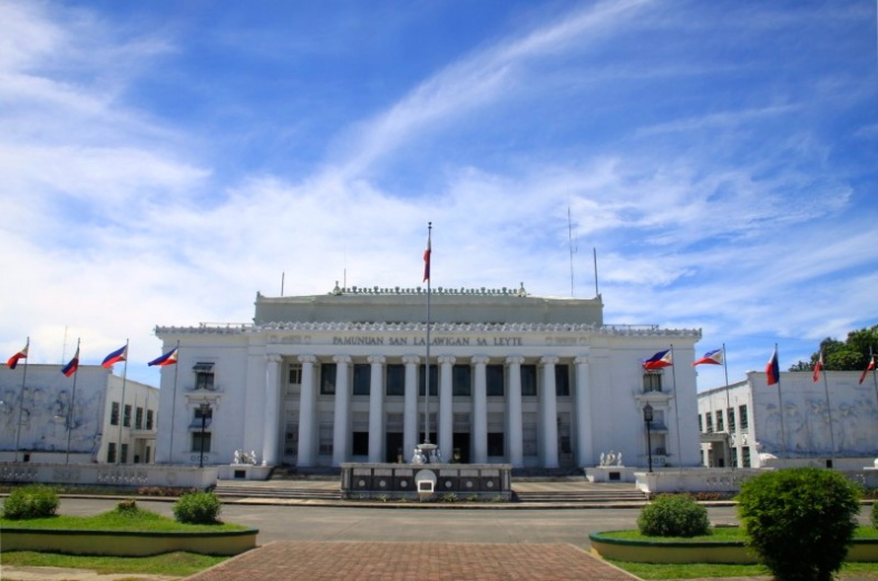 THE iconic Leyte provincial capitol building in Tacloban (intrepidwanderer.com)