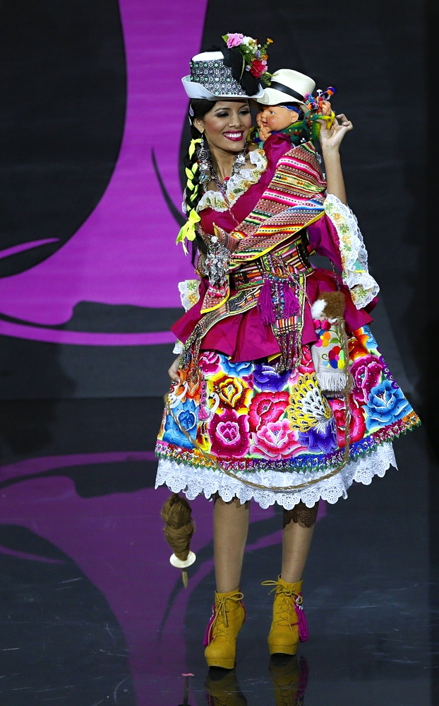 """A NUMBER of my friends poked fun at Miss Peru's """"retaso sa Divisoria"""" look, but, to be fair to her designers, the costume is teeming with local color."""