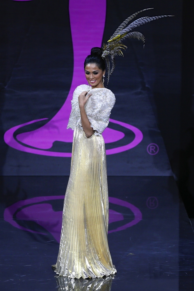FOR a supposed national costume, Miss Philippines' terno lacks visual spark.