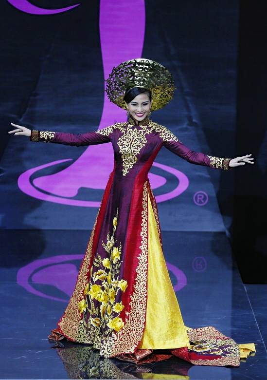 MISS Vietnam's collaborators come up with a fresh take on the ao dai.