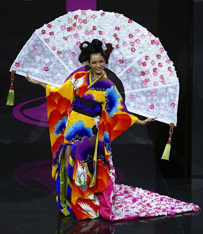 MISS Japan: Who says going traditional is boring?