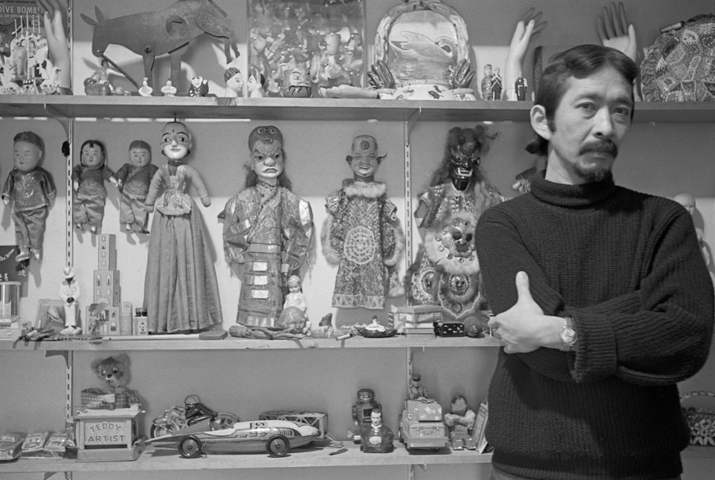 THE late American artist Ray Yoshida and his collections