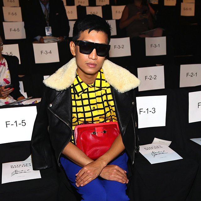 HE'S been called all sorts of names and accused of virtually every crime, except perhaps the Holocaust, by his detractors, but you have to give it to Bryanboy (a.k.a. Bryan Grey Yambao) for going this far and, as the cliche goes, putting the Philippines on the fashion map. (Buru Magazine)