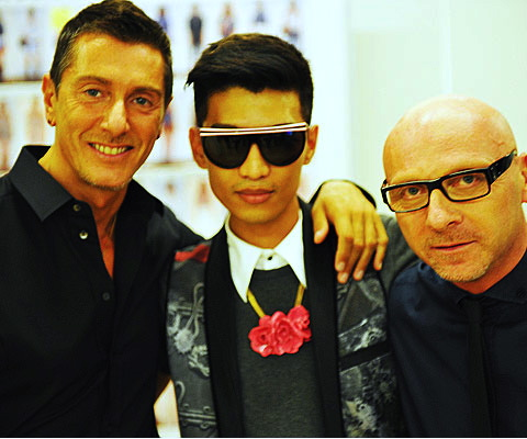 BRYANBOY and the boys that make up Dolce & Gabanna