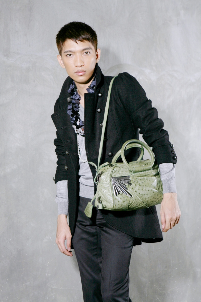 BRYANBOY and his eponymous bag designed by Marc Jacobs