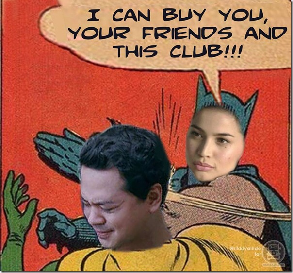 MEMES on raging issues won't be complete without Batman and Robin. Swak na swak!