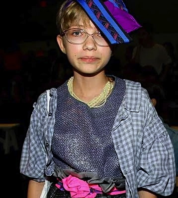 TAKEN when she was 13, Tavi Gevinson, now 17, was considered the youngest celebrity fashion blogger then.