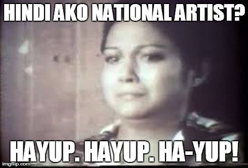 """NORA Aunor, in a video grab from her award-winning performance in """"Ina Ka ng Anak Mo,"""" has every right to feel aggrieved."""