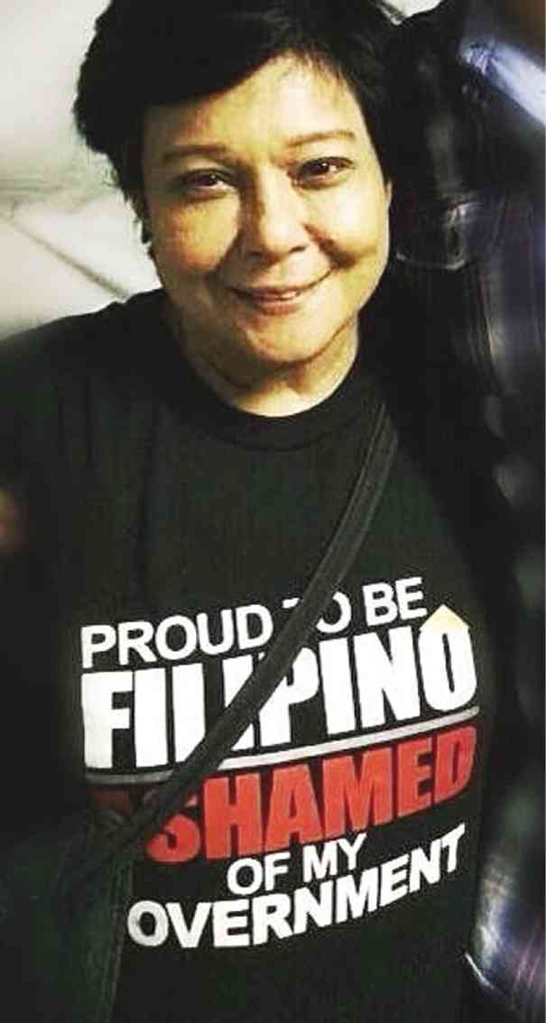 EVEN the country's one and only Superstar, in a statement tee used by Gardo Versoza, its original owner to express his on PDAF, is not above playing politics. (www.inquirer.net)