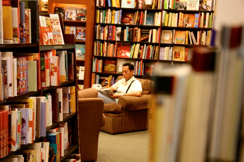 PRIVATE reading at a Barnes and Noble branch in the US