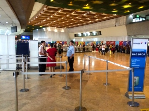 A slow day for Malaysia Airlines at NAIA 1