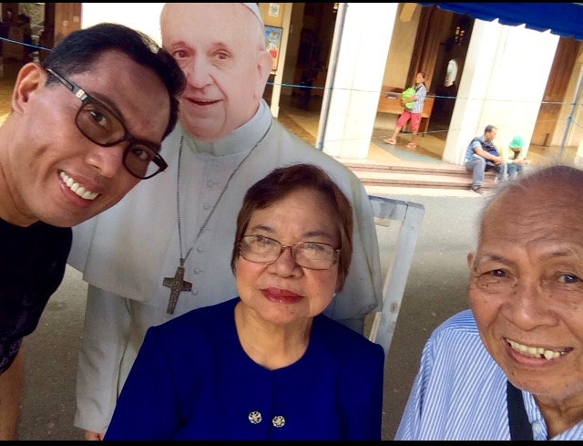 LIKE most Filipinos, my parents and I are eager to see and hear what Pope Francis has to say three weeks from now.