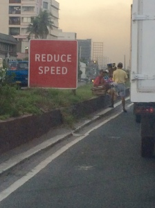 HOW can we reduce speed when we're already at a standstill?