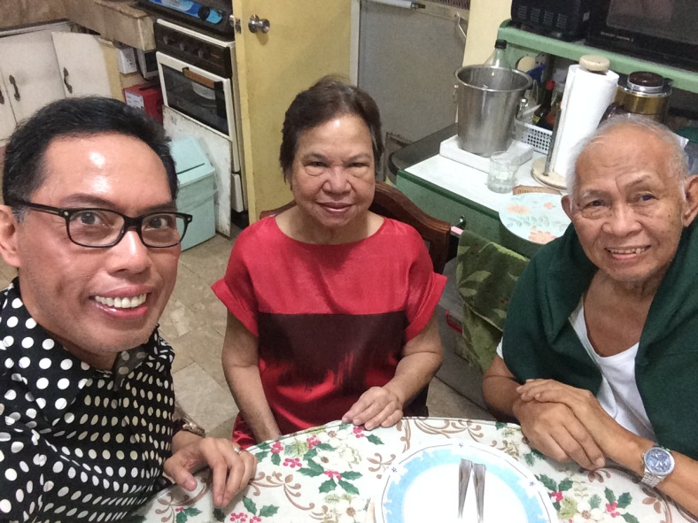 "DURING our New Year's Eve ""ussie,"" my Dad is already feeling moderate to severe stomach pain. He joins us for a photo op, but hardly touches anything from the media noche fare. It was, I realized later, the calm before the big storm."