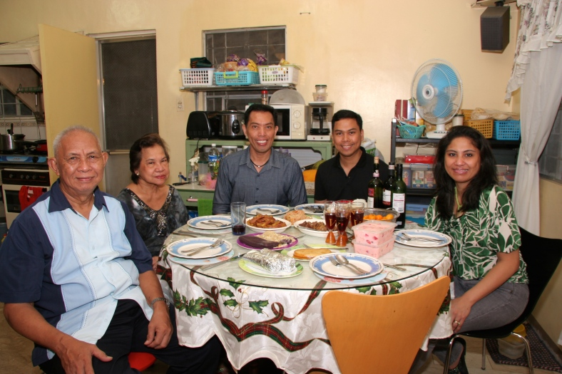 ONE of our last Christmas Eve dinners together in the Philippines in 2010