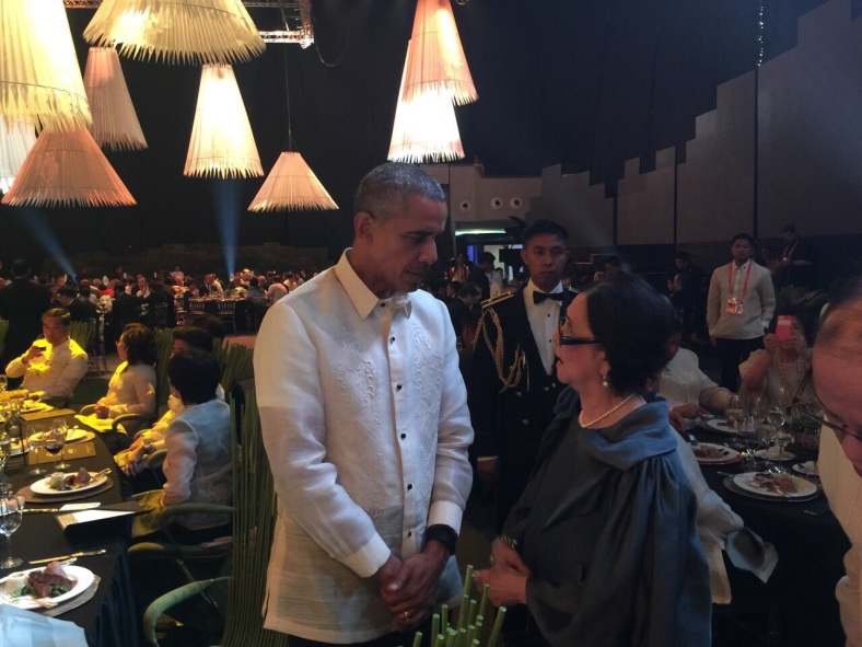 LJM nearly breaks protocol to have a word with US President Barrack Obama during last November's APEC leaders' welcome dinner.